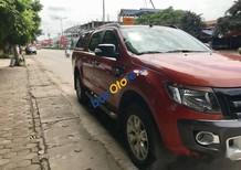 Bán Ford Ranger Wildtrak năm 2015, màu đỏ, xe chính chủ tư nhân, đăng kiểm còn dài