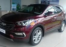Cần bán Hyundai Santa Fe 2.2L 4WD năm sản xuất 2017, màu đỏ
