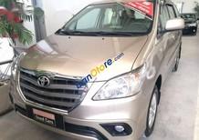 Bán ô tô Toyota Innova E năm 2014 số sàn, xe chạy được 49.000km, biển số thành phố