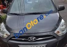 Bán Hyundai i10 sản xuất 2011, màu xám, nhập khẩu nguyên chiếc Ấn Độ