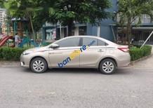 Bán xe Toyota Vios G đời 2014, màu ghi vàng, xe đẹp