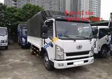 Cần bán FAW xe tải thùng sản xuất 2017, màu trắng