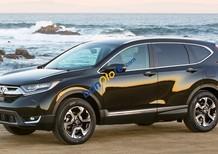 Bán Honda CR V năm sản xuất 2018, màu đen, nhập khẩu