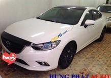 Cần bán lại xe Mazda 6 2.0 sản xuất 2015, màu trắng như mới