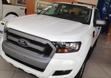 Bán ô tô Ford Ranger XLS AT 2017, màu trắng, nhập khẩu chính hãng, giá tốt