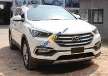 Bán Hyundai Santa Fe 2.4 năm sản xuất 2017, màu trắng, giá tốt