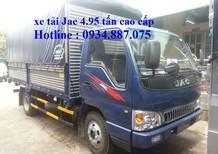 Bán xe tải JAC 4.95 tấn (4t95) phiên bản quốc tế - xe tải Jac 4,95 tấn cao cấp