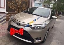 Chính chủ bán xe Toyota Vios sản xuất năm 2016, màu vàng