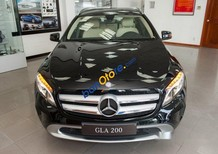 Cần bán Mercedes GLA200 AT sản xuất 2017, màu đen, nhập khẩu nguyên chiếc