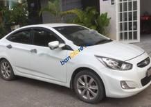 Cần bán Hyundai Accent 1.4AT đời 2012, màu trắng, xe đẹp