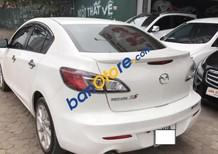 Cần bán Mazda 3 AT sản xuất năm 2014, màu trắng, xe đẹp