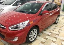 Bán Hyundai Accent sản xuất 2013, màu đỏ, xe đẹp