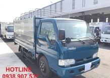 Tp. HCM xe tải KIA K165S 2.4 tấn thùng mui bạt, inox430, màu trắng giao xe nhanh trong tuần