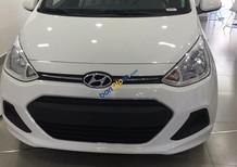 Bán Hyundai Grand i10 1.2 AT sản xuất 2017, màu trắng