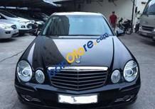Bán xe Mercedes E200 sản xuất năm 2007, màu đen xe gia đình