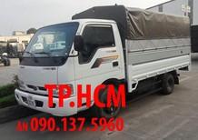TP.HCM Thaco Kia K165S phiên bản mới thùng kín tôn lạnh, màu trắng, giá chỉ 377 triệu