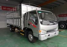 Bán xe tải JAC 6 tấn thùng bạt mới 2017 thùng Inox, động cơ Faw tại Thái Bình 0964674331