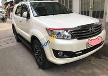 Bán xe Toyota Fortuner năm sản xuất 2012, màu trắng