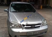 Bán xe cũ Daewoo Lacetti màu bạc, đời 2010