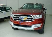 Bán xe Ford Everest 2.2 Titanium sản xuất 2017, màu đỏ