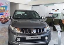 Bán ô tô Mitsubishi Triton AT 4x2 2017, màu xám, có bán trả góp liên hệ 0906.884.030