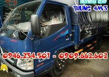 Xe tải 2,4 tấn Đô Thành / Huyndai Iz49 2T4 / Huyndai Đô Thành 2 tấn 4 / Xe tải thùng mui bạt IZ49 Đô Thành / Xe tải 2 tấ