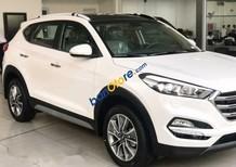 Bán xe Hyundai Tucson đời 2017, màu trắng, kiểu dáng thiết kế thể thao, thời trang
