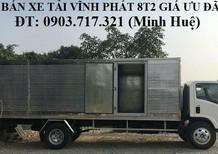 Bán xe tải Isuzu Vĩnh Phát 8T2 – 8.2T – 8.2 Tấn – Vĩnh Phát FN129. Bán trả góp xe tải Vĩnh Phát 8T2 (Isuzu)