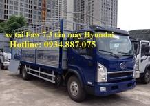 Bán xe tải Hyundai 7.3 tấn - 7t3 - 7.3 tấn, động cơ Hyundai thùng dài 6.25m