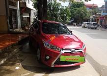 Bán xe cũ Toyota Yaris 1.5G đời 2016, màu đỏ, nhập khẩu