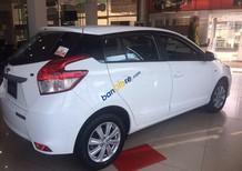Cần bán Toyota Yaris E năm sản xuất 2017, màu trắng, nhập khẩu nguyên chiếc, giá 592tr