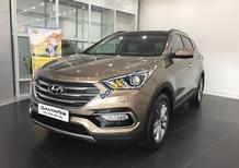 Cần bán xe Hyundai Santa Fe sản xuất năm 2017, màu nâu