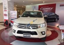 Bán Toyota Hilux 2.4E 4x2AT 2017, màu trắng, nhập khẩu, giá tốt