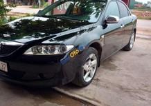 Bán Mazda 6 2.0 MT 2004, màu đen, xe cũ