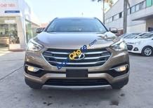 Bán Hyundai Santa Fe đời 2017, màu nâu, giá tốt