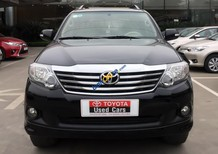 Cần bán Toyota Fortuner V AT năm sản xuất 2013, màu đen