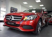 Cần bán Mercedes C200 đời 2017, màu đỏ, giá 1 tỷ 479tr