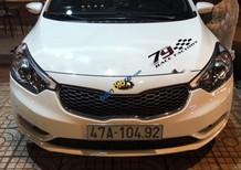Bán Kia K3 1.6 AT sản xuất 2015, màu trắng, xe cũ