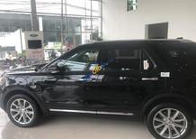Bán Ford Explorer Limited sản xuất 2017, màu đen, nhập khẩu nguyên chiếc