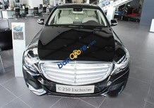 Bán Mercedes C250 Exclusive AT đời 2017, màu đen, nhập khẩu, giá tốt