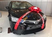 Bán ô tô Toyota Corolla altis 1.8E CVT sản xuất 2017, màu đen