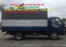 Xe tải OLLIN 2.4 tấn Ollin 360, thùng mui bạt/thùng kín mới, hỗ trợ trả góp O976548336
