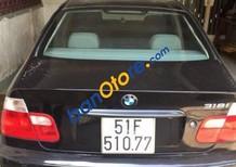 Cần bán xe BMW 3 Series 318i sản xuất năm 2002, màu đen, nhập khẩu nguyên chiếc xe gia đình