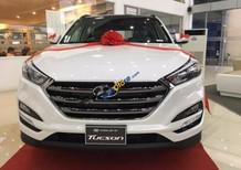 Bán xe Hyundai Tucson 2.0 ATH đời 2017, màu trắng, giá tốt