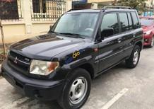 Bán xe cũ Mitsubishi Pajero Pinin đời 2002, màu đen, nhập khẩu