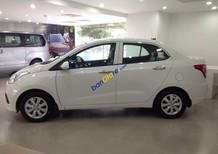 Bán xe Hyundai Grand i10 1.2 MT sản xuất 2017, màu trắng, nhập khẩu Hàn Quốc