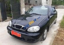 Bán xe Daewoo Lanos sản xuất 2004, màu đen như mới