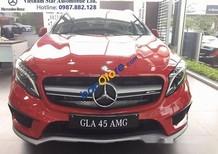 Bán Mercedes GLA45 sản xuất 2017, màu đỏ, nhập khẩu, giá tốt