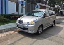 Bán Toyota Innova G đời 2008, màu bạc, số sàn, 298 triệu