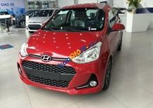 Bán xe Hyundai Grand i10 sản xuất 2017, màu đỏ, giá tốt